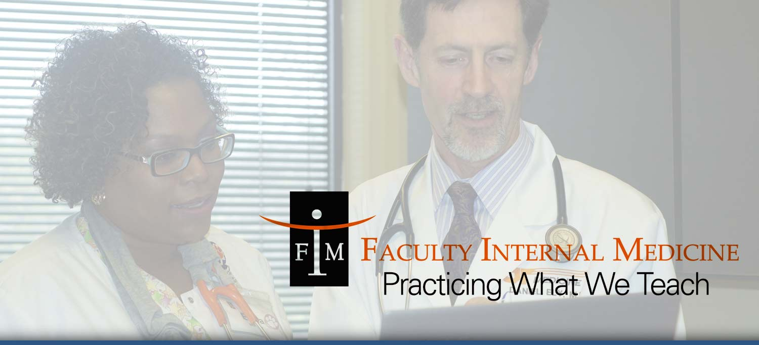 Faculty Internal Medicine Physician